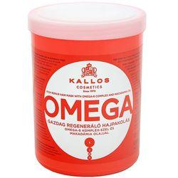 KALLOS 1000ml Omega Maska bogato regenerująca z kwasami tłuszczowymi i