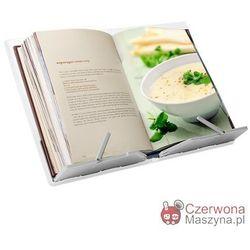 Stojak na książkę kucharską Joseph Joseph Cookbook, biało - szary
