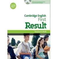 Cambridge English First Result Teacher´s Book with DVD D. Baker