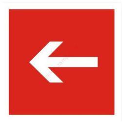 Znak Kierunek do sprzętu pożarniczego
