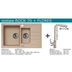 Zestaw ALVEUS ROCK 70 + FLORES (kolor BIAŁY)