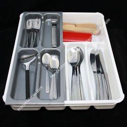 Dwuczęściowy wkład organizer do szuflady na sztućce