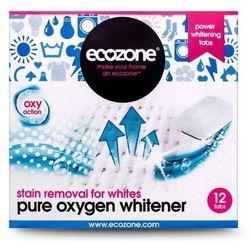 Ekologiczny Odplamiacz / Wybielacz do Białego Pure Oxygen, 12 tabletek, ECOZONE