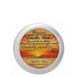 Świeczka z masłem shea o zapachu piżma 150g