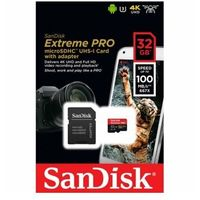 SanDisk Extreme Pro microSDHC 32GB 100/90 MB/s A1 V30