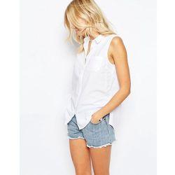 Levis Sleeveless Shirt - White