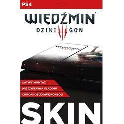 Skin na konsolę CDP.PL PlayStation 4 - Wiedźmin 3 Dziki Gon: Biały Wilk