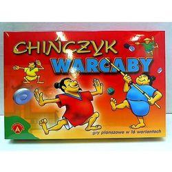 ALEX Gra planszowa. Chińczyk, Warcaby