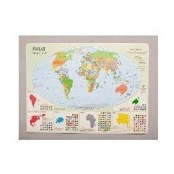 Podkadka na biurko - Mapa polityczna Świata