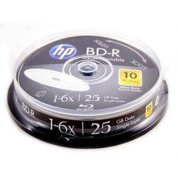 Płyty HP BD-R 25GB x6 - Cake - 10szt.