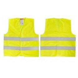 LAHTI PRO Kamizelka ostrzegawcza żółta dla dzieci 10-12 lat L L4130103 (ZNALAZŁEŚ TANIEJ - NEGOCJUJ CENĘ !!!)