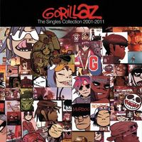 GORILLAZ - THE SINGLES 2001-2011 (CD)
