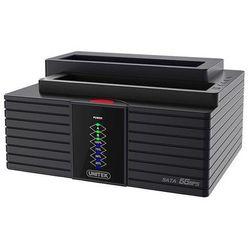 Unitek Stacja Dokująca DUAL HDD USB 3.0 klonowanie