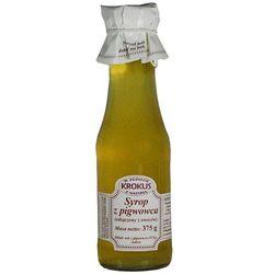 KROKUS 375g Syrop z pigwowca tradycyjna receptura