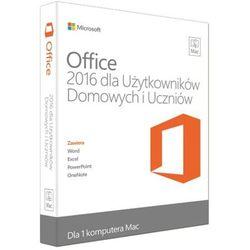 Microsoft Office 2016 MAC dla Użytkowników Domowych i Uczniów GZA-00600