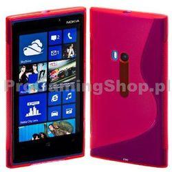 Etui silikonowe S-TYPE do Nokia Lumia 920, Pink