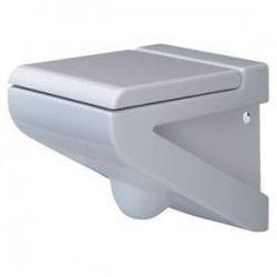 Miska Artceram La Fontana wisząca biała + deska wolnoopadająca LFV00101;00+LFV00501