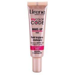 Lirene My Color Code podkład - fluid z matowym wykończeniem + do każdego zamówienia upominek.