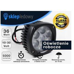 Oświetlenie Robocze LED 36W 10-30V DC 5000lm Biały Zimny Szperacz