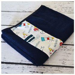Bambusowy Ręcznik dla Dzieci, Marine / Granatowy, 50x100 cm, CAMPHORA STUDIO