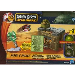 STAR WARS Angry Birds Pałac Jabby