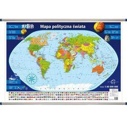 Świat polityczny mapa ścienna 1: 40 000 000