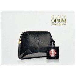 Yves Saint Laurent Black Opium W Zestaw perfum Edp 30ml + Kosmetyczka