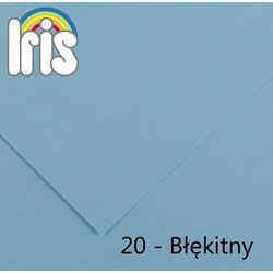 Brystol Canson Iris B1/240g błękitny 25ark.