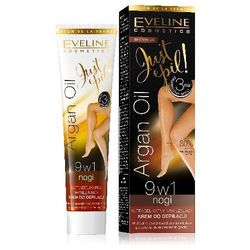 Eveline Just Epil Argan Oil Krem do depilacji nóg 9w1 125ml