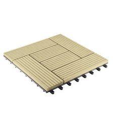 G21 Płyta tarasowa WPC Palmyra Cumaru 2,3 x 30 x 30 cm