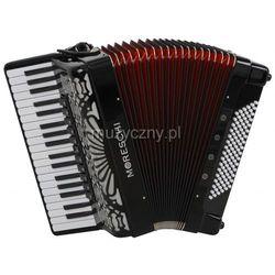 Moreschi ST 496 37/4/11 96/4/4 Piccolo akordeon (czarny) Płacąc przelewem przesyłka gratis!