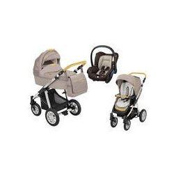 Wózek wielofunkcyjny 3w1 Lupo Dotty Baby Design + Citi GRATIS (Denim beżowy)