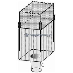 Worek BIG BAG 04A. 4 uchwyty, tkanina ażurowa wym. 900x900x1700mm