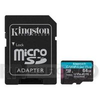 Kingston microSD Canvas Go Plus 64GB 170/70MB/S U3 V30