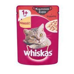 Whiskas kremowa zupa z wołowiną karma pełnoporcjowa 85 g