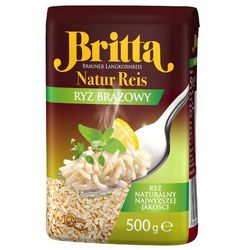BRITTA 500g Naturalny Ryż Brązowy premium