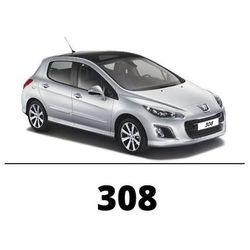 Peugeot 308 - Zestaw oświetlenia wnętrza LED - 5 żarówek