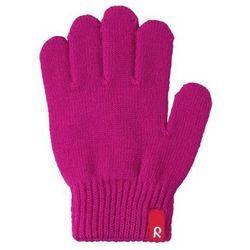Rękawiczki Reima Twig cienka włóczka wełniana różowe