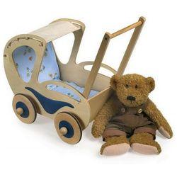 Wózek drewniany dla lalek Sandra