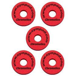 Cympad Chromatic 40/15mm Set Red podkładki do talerzy perkusyjnych (5 szt.), czerwone