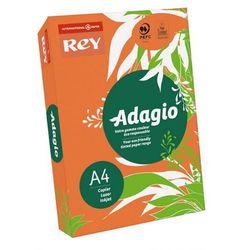 Papier ksero Rey Adagio A4/80g pomarańczowy