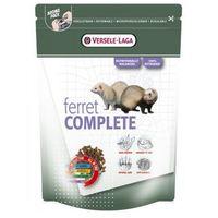 Versele Laga Ferret Complete 750g/2,5kg/10kg - ekstrudat dla fretek/nowa formuła - karma bezzbożowa, bezglutenowa Waga:2,5 kg