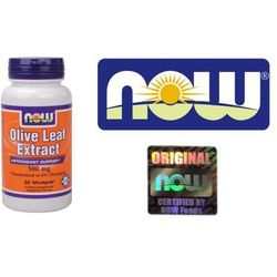 Now Foods Olive Leaf extract (Liść oliwny) 60 kaps.