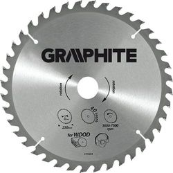 Tarcza do cięcia GRAPHITE 55H601 185 x 30 mm do pilarki widiowa