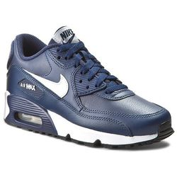 Buty NIKE - Nike Air Max 90 Ltr (Gs) 833412 400 Midnight Navy/White/Black