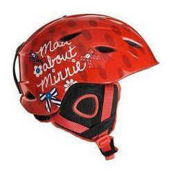Kask narciarski Minnie M Czerwony