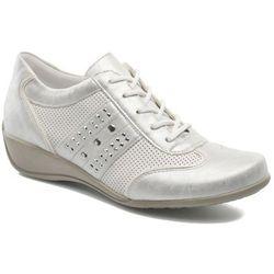 promocje - 10% Buty sznurowane Remonte Aram r9802 Damskie Białe 100 dni na zwrot lub wymianę