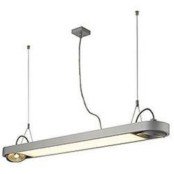 LAMPA wisząca AIXLIGHT R Office T5, 39W 159094 Spotline OPRAWA aluminiowa LISTWA srebrnoszary