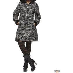 płaszcz damski (zimowy) HELL BUNNY - Dion - Black / White - 8007