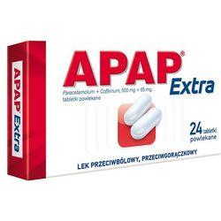 Apap Extra 24 tabletek